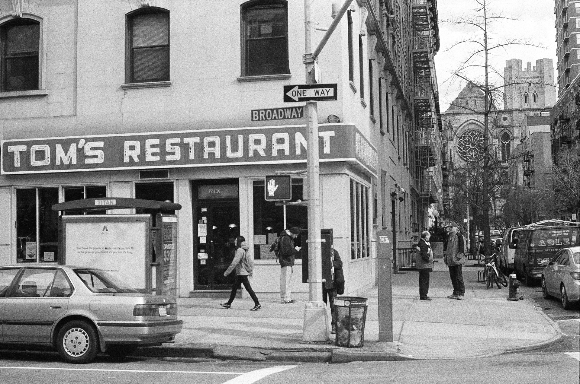 Tom's Restaurant NYC by Gian Franco Morini